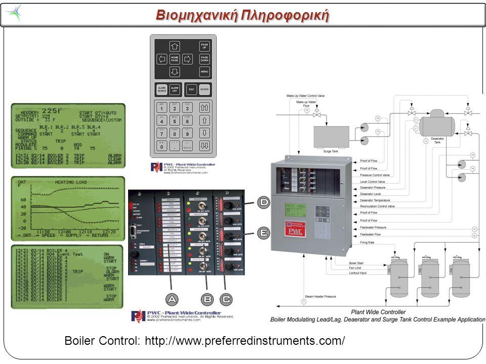 Boiler Control: http://www.preferredinstruments.com/