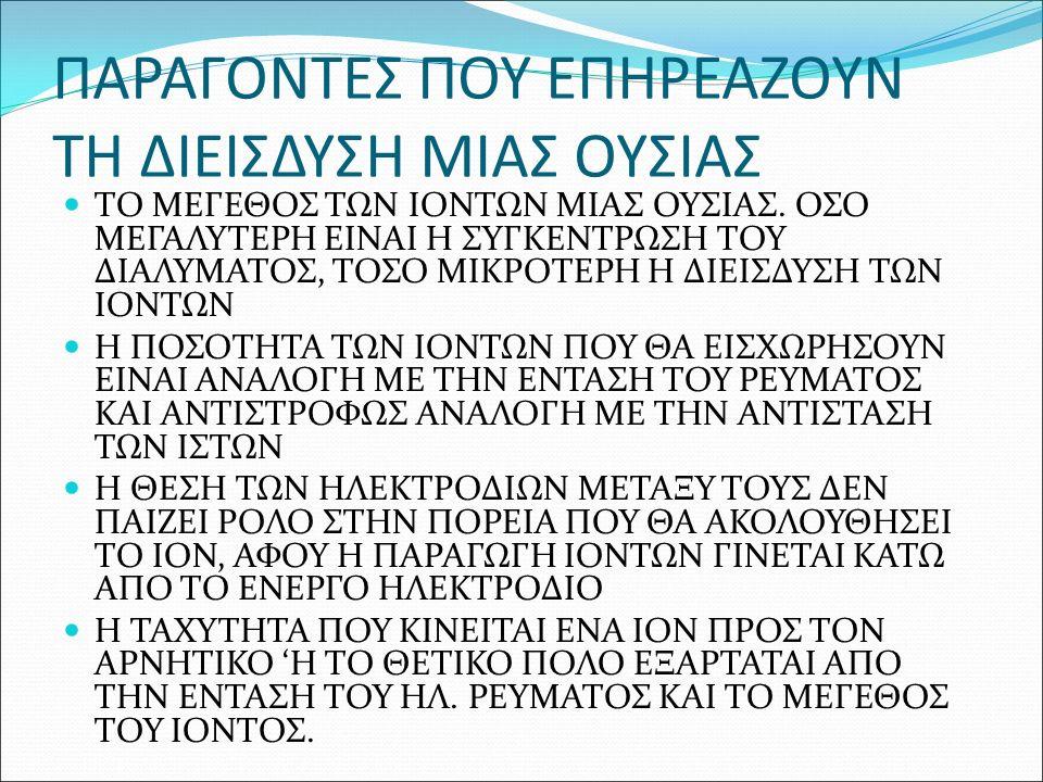 ΔΡΑΣΗ ΤΟΥ ΓΑΛΒΑΝΙΚΟΥ ΡΕΥΜΑΤΟΣ ΘΕΤΙΚΟΣ ΠΟΛΟΣ -ΚΛΕΙΝΕΙ ΤΟΥΣ ΠΟΡΟΥΣ -ΑΠΑΛΥΝΕΙ ΤΙΣ ΝΕΥΡΙΚΕΣ ΑΠΟΛΗΞΕΙΣ -ΠΑΡΑΓΕΙ ΟΞΙΝΗ ΑΝΤΙΔΡΑΣΗ -ΜΕΙΩΝΕΙ ΤΗΝ ΑΙΜΑΤΙΚΗ ΚΥΚΛΟΦΟΡΙΑ -ΣΚΛΗΡΑΙΝΕΙ ΤΟ ΔΕΡΜΑ ΑΡΝΗΤΙΚΟΣ ΠΟΛΟΣ -ΔΙΑΣΤΟΛΗ ΤΩΝ ΠΟΡΩΝ -ΔΙΕΓΕΙΡΕΙ ΤΙΣ ΝΕΥΡΙΚΕΣ ΑΠΟΛΗΞΕΙΣ -ΠΑΡΑΓΕΙ ΑΛΚΑΛΙΚΗ ΑΝΤΙΔΡΑΣΗ -ΔΗΜΙΟΥΡΓΕΙ ΤΟΠΙΚΗ ΥΠΕΡΑΙΜΙΑ -ΑΠΑΛΥΝΕΙ ΤΟ ΔΕΡΜΑ