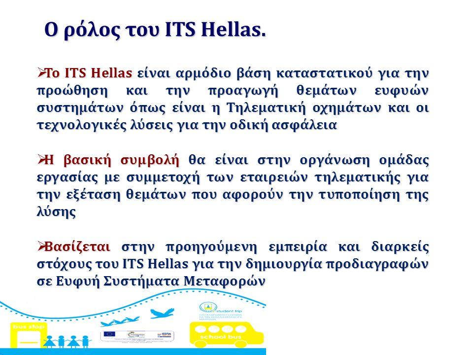 Ο ρόλος του ITS Hellas.