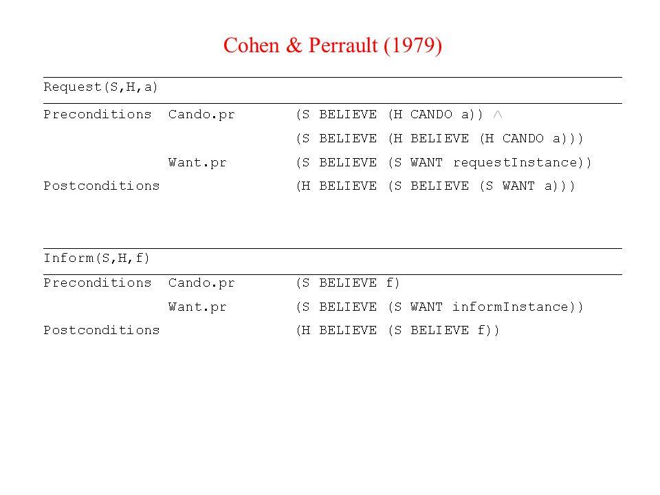Γλώσσες επικοινωνίας πρακτόρων (ACLs) Από τις αρχές της δεκαετίας του '90 –KQML (knowledge, query and manipulation language): ορίζει συγκεκριμένη μορφή για κάθε τύπο μηνύματος που μπορεί να χρησιμοποιήσει ένας πράκτορας για να επικοινωνήσει με άλλον.