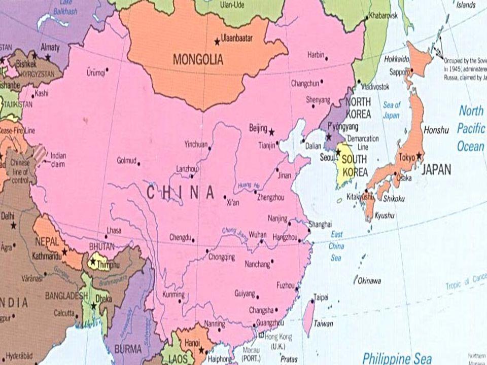 Διενέξεις Κίνας με γειτονικές χώρες i.αντιπαράθεση Κίνας- Ιαπωνίας για το καθεστώς των νήσων Senkaku/Diaoyu (Ιαπωνία κύρια ανταγωνιστική δύναμη της Κίνας) ii.συγκρουσιακές σχέσεις Κίνας-Ταϊβάν (στήριξη Ταϊβάν από Ιαπωνία) 2.