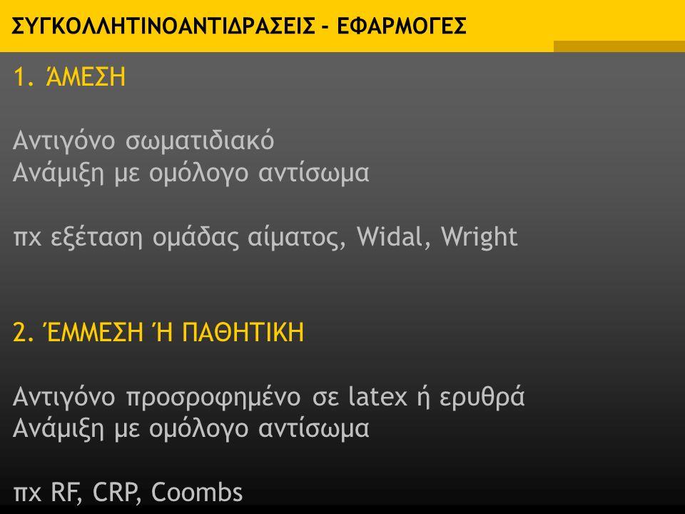 ΣΥΓΚΟΛΛΗΤΙΝΟΑΝΤΙΔΡΑΣΕΙΣ - ΕΦΑΡΜΟΓΕΣ 1.