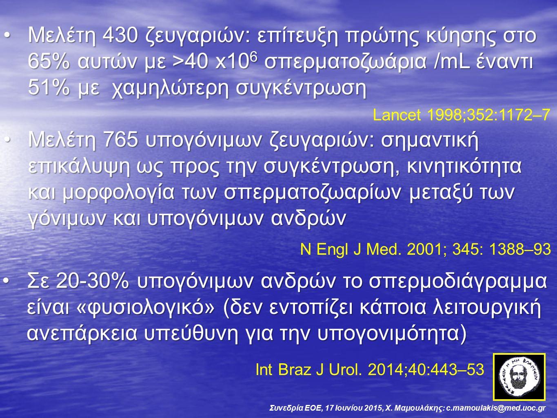 Συνεδρία ΕΟΕ, 17 Ιουνίου 2015, Χ.