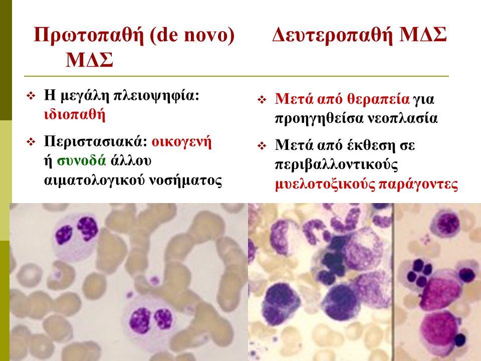 Δερματική λευκοκυττοκλαστική αγγειίτις (σύνδ. Sweet) που εμφανίζεται συχνά επί ασθενών με ΜΔΣ