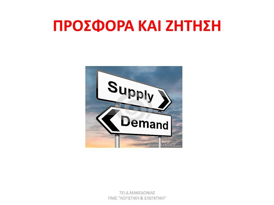 Παράγοντες που καθορίζουν την προσφορά (1) Τιμές εισροών-πρώτων υλών-κόστους: Μια αύξηση του κόστους των πρώτων υλών θα μειώσει την παραγόμενη ποσότητα δηλαδή τη ν προσφορά (θα κάνει την πώληση λιγότερο επικερδή).