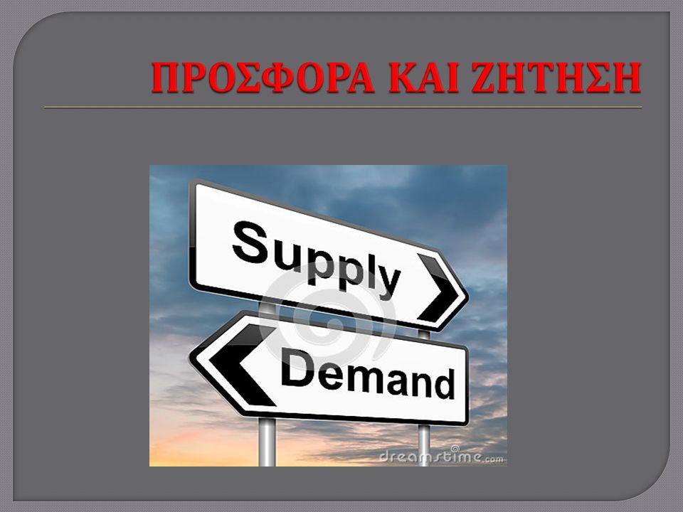  Η αγορά είναι το σύνολο των αγοραστών και των πωλητών ενός συγκεκριμένου αγαθού ή µ ιας υπηρεσίας.