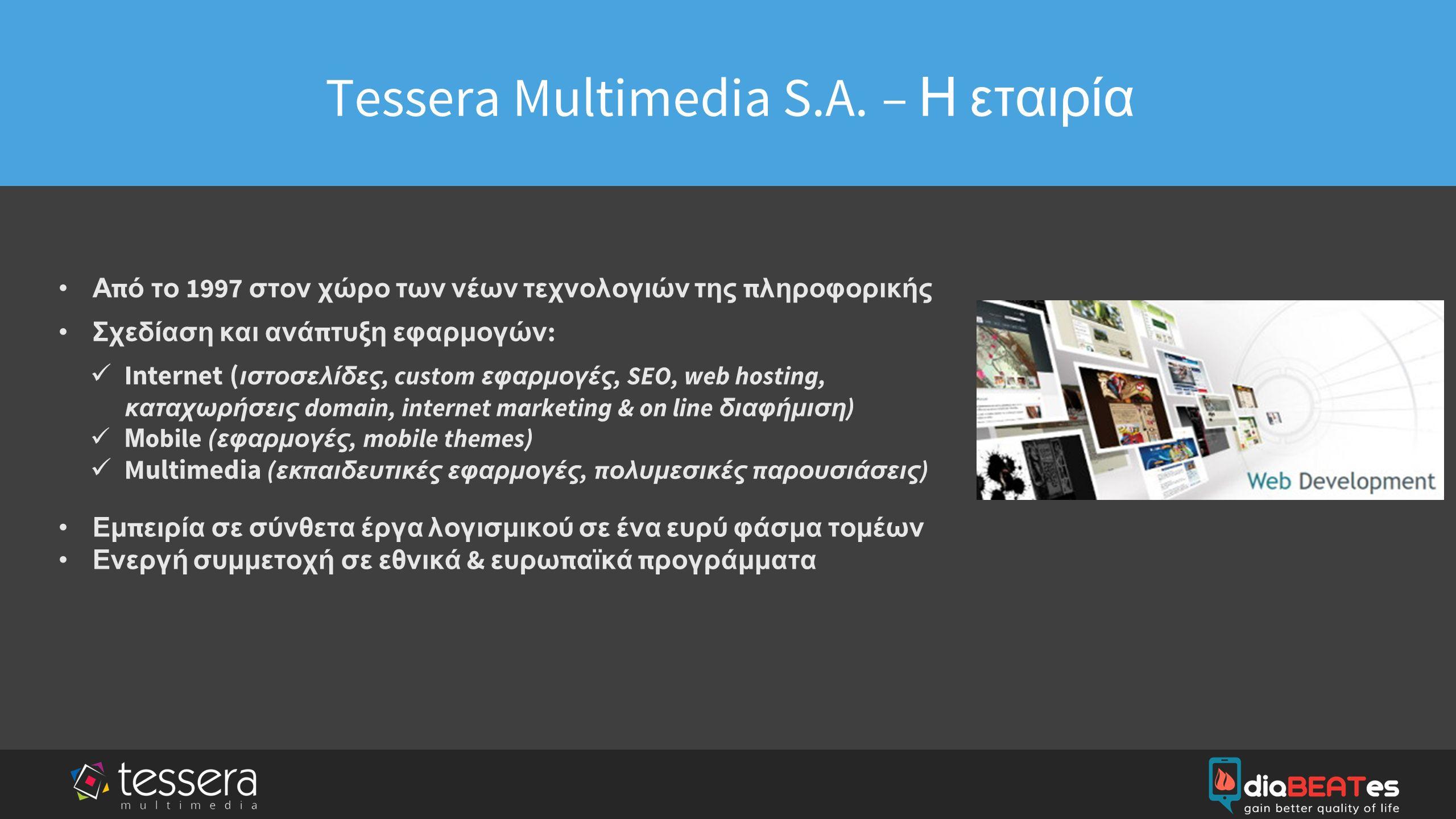 company logo & name Tessera Multimedia S.A.