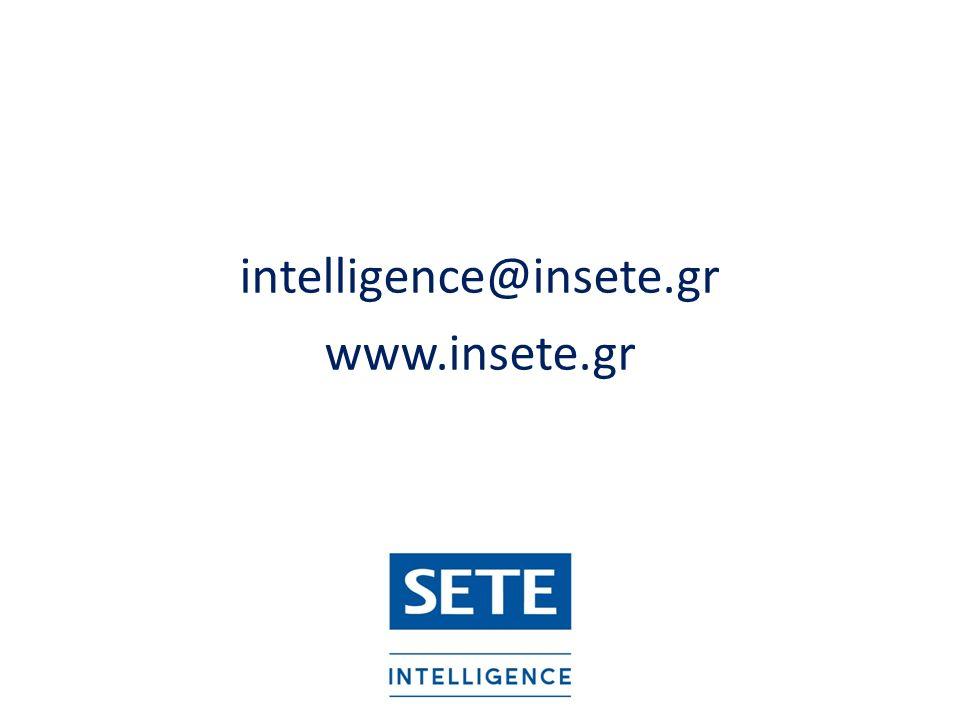 intelligence@insete.gr www.insete.gr