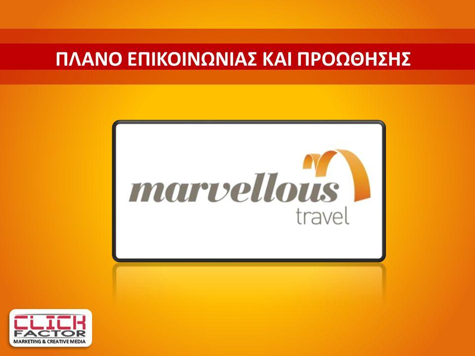 MARVELLOUS TRAVEL NOW MARKETING & CREATIVE MEDIA