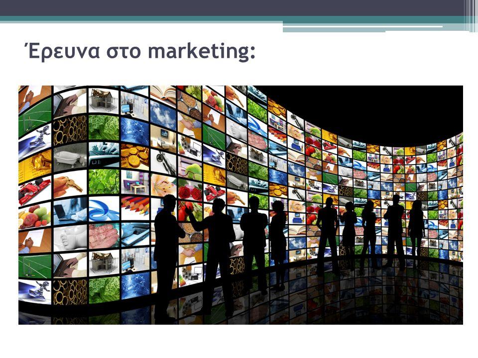Έρευνα στο marketing: