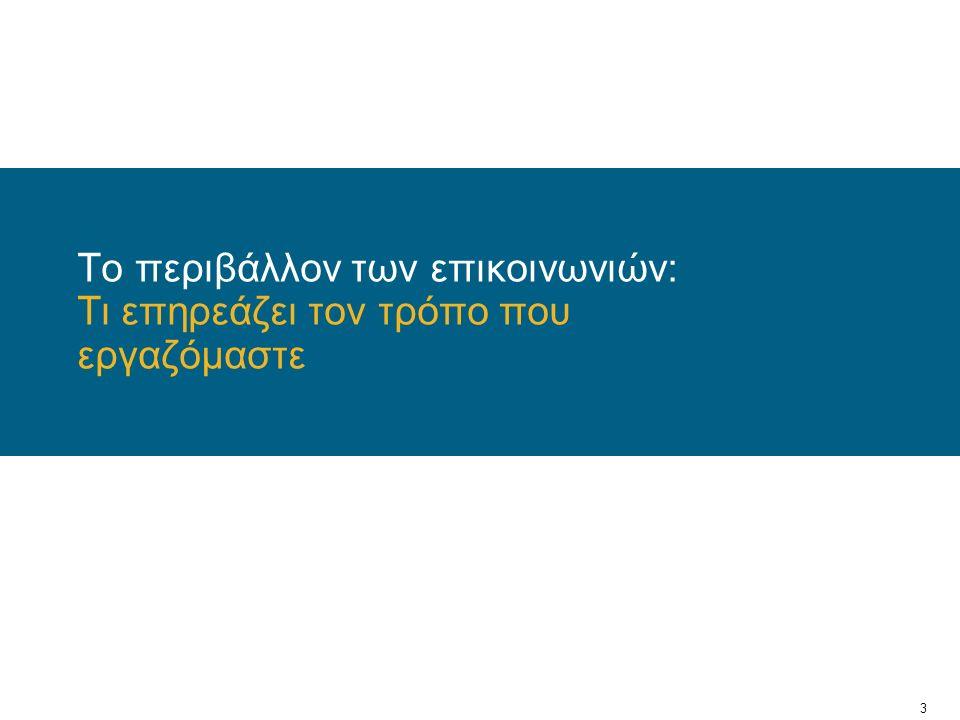 14 Ξενοδοχεία - Τουρισμός Προσαρμογή της εμπειρίας σε κάθε επισκέπτη One-Touch Control Παροχή δυνατότητας Group Calling Βελτίωση της ασφάλειας και της παραγωγικότητας του επισκέπτη Προσωποποίησης της παροχής υπηρεσιών Αύξηση της παραγωγικότητας του προσωπικού