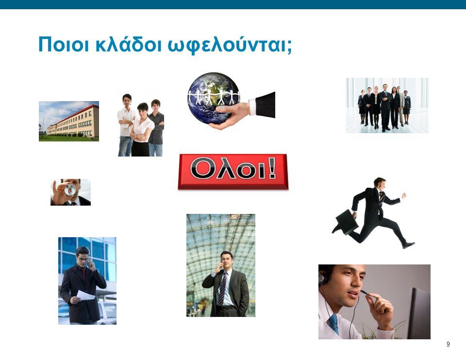 10 Επιχειρηματικά ωφέλη Βοηθούν επιχειρήσεις και οργανισμούς (μικρούς και μεγάλους) να βελτιστοποιήσουν τη διαδικασία παράδοσης της πληροφορίας και εξασφαλίζουν την ευκολία στη χρήση της.