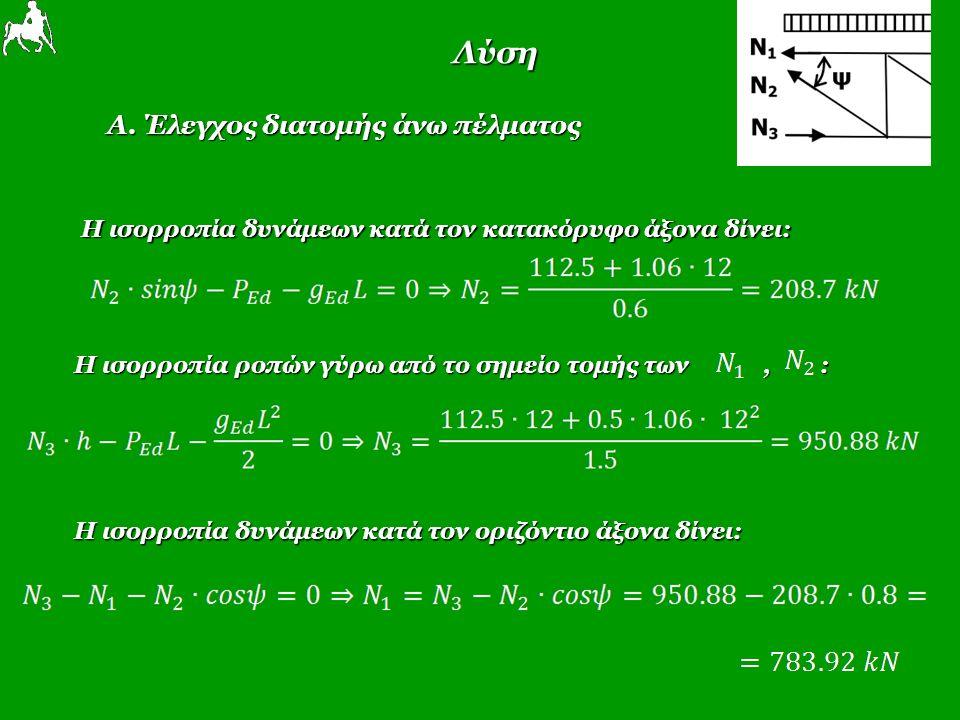 Λύση Α.