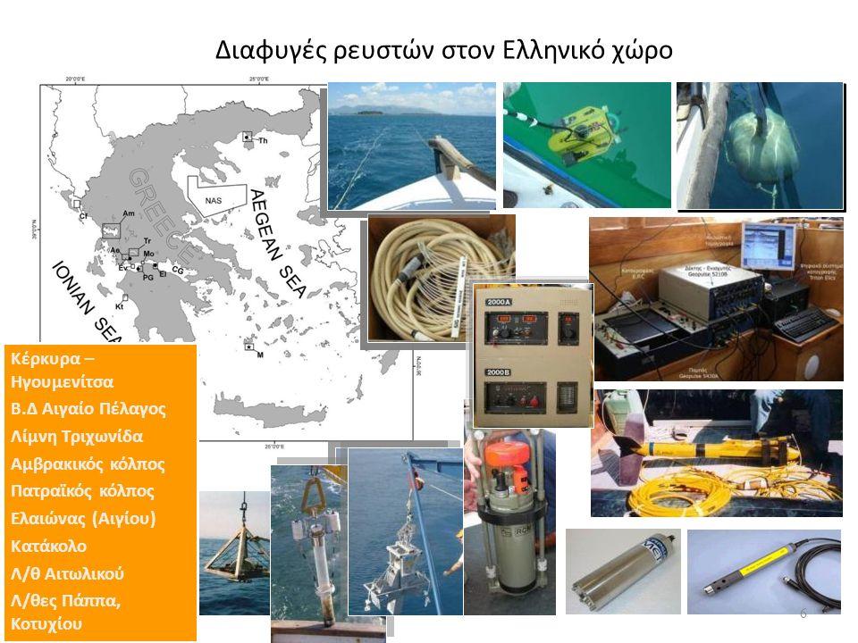 Περιβάλλον Κρηπίδας ΚΕΡΚΥΡΑ - ΗΓΟΥΜΕΝΙΤΣΑ 7 Papatheodorou et al., 1993