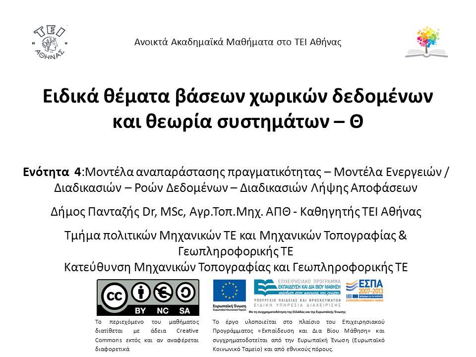 Μοντέλα Ροών Δεδομένων 7/12 http://yourdon.com/strucanalysis/wiki/index.php?title=Chapter_9 http://www.edrawsoft.com/Design-Data-Flow.php https://www.google.gr/search?q=data+flow+diagrams&biw=1344& bih=602&tbm=isch&imgil=4pYGldRRvvqPqM%253A%253B- fjvmxLwTtNLQM%253Bhttp%25253A%25252F%25252Fwww.edraw soft.com%25252FData-Flow-Model- Diagram.php&source=iu&pf=m&fir=4pYGldRRvvqPqM%253A%252C -fjvmxLwTtNLQM%252C_&usg=___zMCP- 9Cl11f08D35uXw61UjLUQ%3D#tbm=isch&q=%CE%B4%CE%B9%CE %B1%CE%B3%CF%81%CE%B1%CE%BC%CE%BC%CE%B1%CF%84%C E%B1+%CF%81%CE%BF%CE%B7%CF%82+%CE%B4%CE%B5%CE%B 4%CE%BF%CE%BC%CE%B5%CE%BD%CF%89%CE%BD+%CF%80%CE %B1%CF%81%CE%B1%CE%B4%CE%B5%CE%B9%CE%B3%CE%BC%C E%B1%CF%84%CE%B1 https://www.google.gr/search?q=data+flow+diagrams&biw=1344& bih=602&tbm=isch&imgil=4pYGldRRvvqPqM%253A%253B- fjvmxLwTtNLQM%253Bhttp%25253A%25252F%25252Fwww.edraw soft.com%25252FData-Flow-Model- Diagram.php&source=iu&pf=m&fir=4pYGldRRvvqPqM%253A%252C -fjvmxLwTtNLQM%252C_&usg=___zMCP- 9Cl11f08D35uXw61UjLUQ%3D#tbm=isch&q=%CE%B4%CE%B9%CE %B1%CE%B3%CF%81%CE%B1%CE%BC%CE%BC%CE%B1%CF%84%C E%B1+%CF%81%CE%BF%CE%B7%CF%82+%CE%B4%CE%B5%CE%B 4%CE%BF%CE%BC%CE%B5%CE%BD%CF%89%CE%BD+%CF%80%CE %B1%CF%81%CE%B1%CE%B4%CE%B5%CE%B9%CE%B3%CE%BC%C E%B1%CF%84%CE%B1 ΤΙ ΠΑΡΑΤΗΡΕΙΤΕ ;;;;;;;;;;;