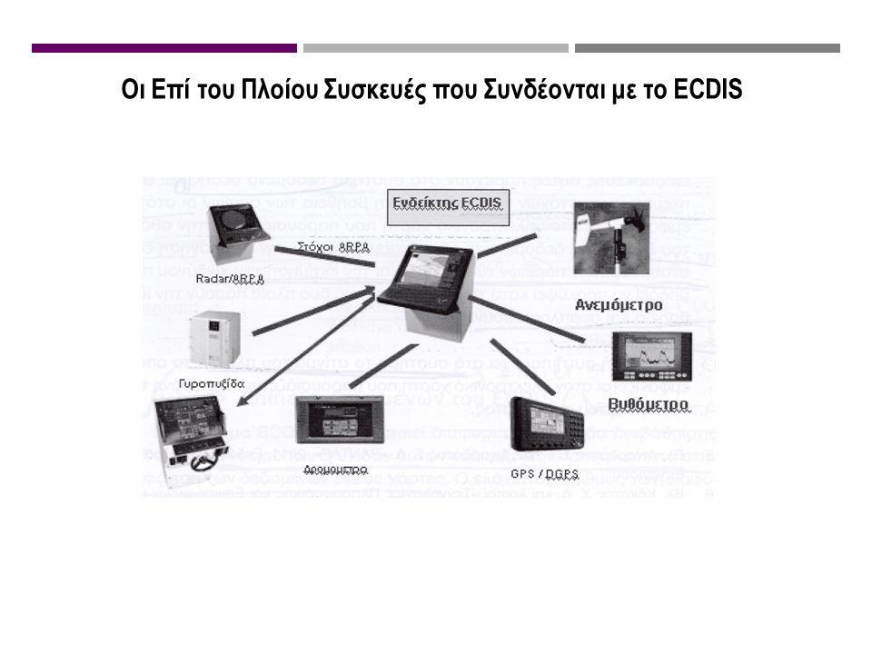 Οι Επί του Πλοίου Συσκευές που Συνδέονται με το ECDIS