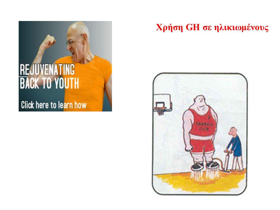Χρήση GH σε ηλικιωμένους