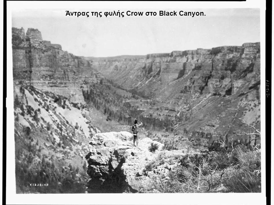 Άντρας της φυλής Crow στο Black Canyon.
