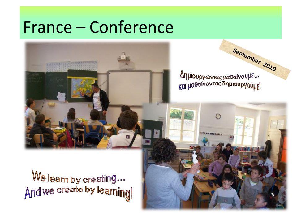 France – Conference September 2010