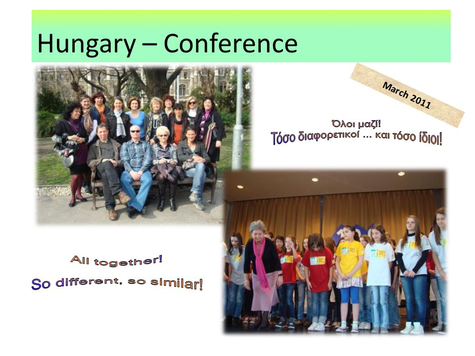Hungary – Conference March 2011