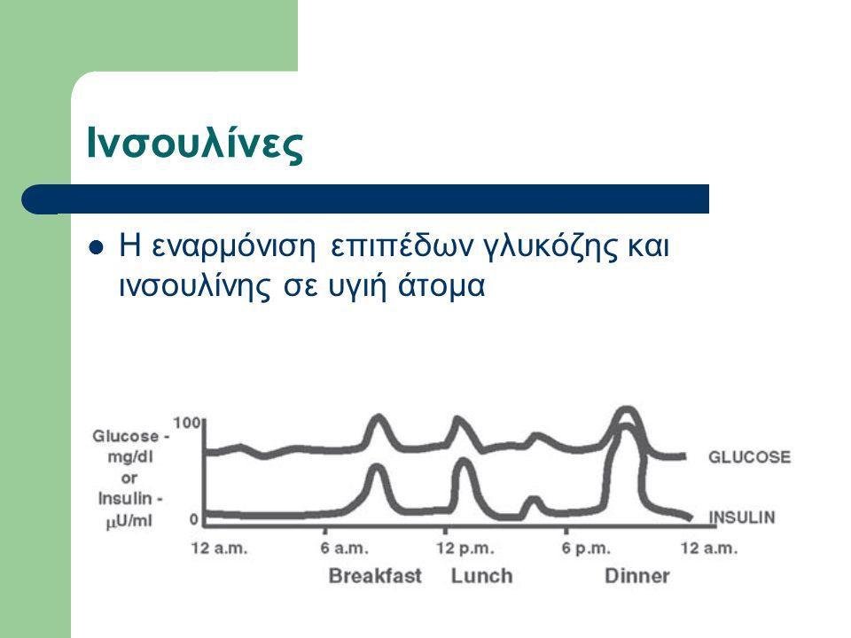 Ινσουλίνες Η εναρμόνιση επιπέδων γλυκόζης και ινσουλίνης σε υγιή άτομα