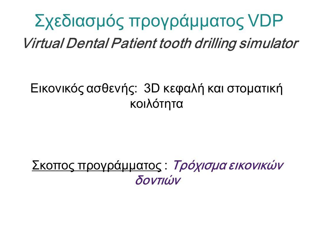 Βήμα 1 : Λήψη δυο φωτογραφιών (προφίλ, αμφάς) Εικόνες 2D Βήμα 2 : Πρόγραμμα CANDIDE-3 face model - Ανατομικά, CT Τομογραφίας Δεδομένα (Visible Human Project - NIH).