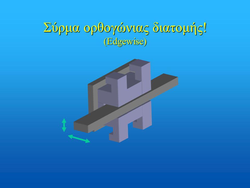 Σύρμα ορθογώνιας διατομής! (Edgewise)