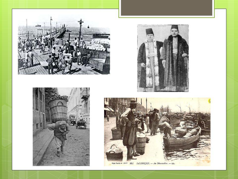Τα πρώτα χρόνια του ερχομού τους, ήταν τεχνίτες και η πόλη φημιζόταν για τους Εβραίους υφαντές και βαφείς μεταξιού και μαλλιού.