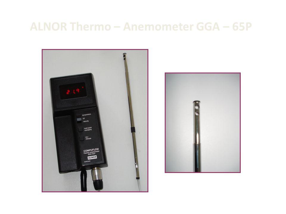 ALNOR Thermo – Anemometer GGA – 65P