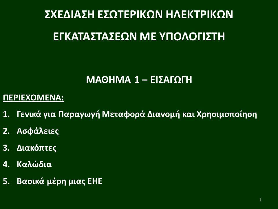 2 ΜΑΘΗΜΑ 1-ΕΙΣΑΓΩΓΗ 1.