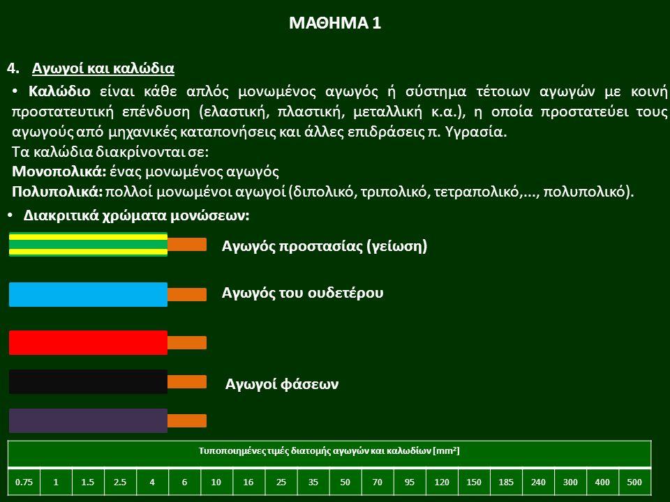 23 Καλώδιο είναι κάθε απλός μονωμένος αγωγός ή σύστημα τέτοιων αγωγών με κοινή προστατευτική επένδυση (ελαστική, πλαστική, μεταλλική κ.α.), η οποία προστατεύει τους αγωγούς από μηχανικές καταπονήσεις και άλλες επιδράσεις π.