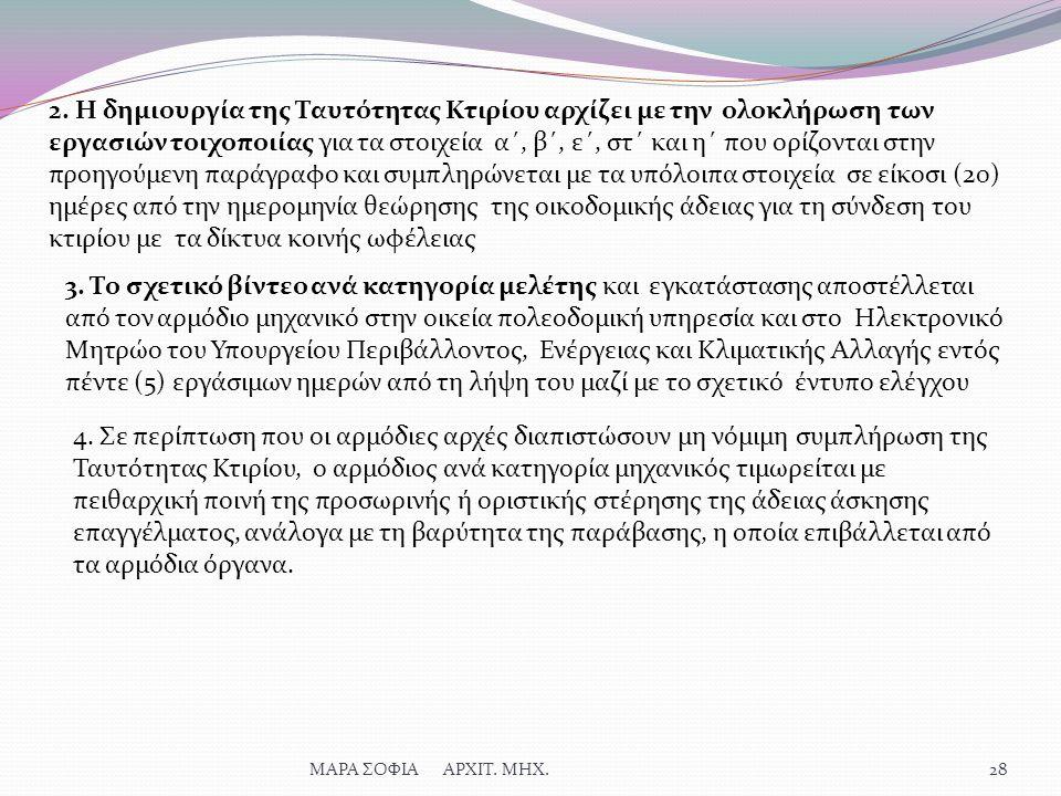 ΜΑΡΑ ΣΟΦΙΑ ΑΡΧΙΤ. ΜΗΧ.28 2.