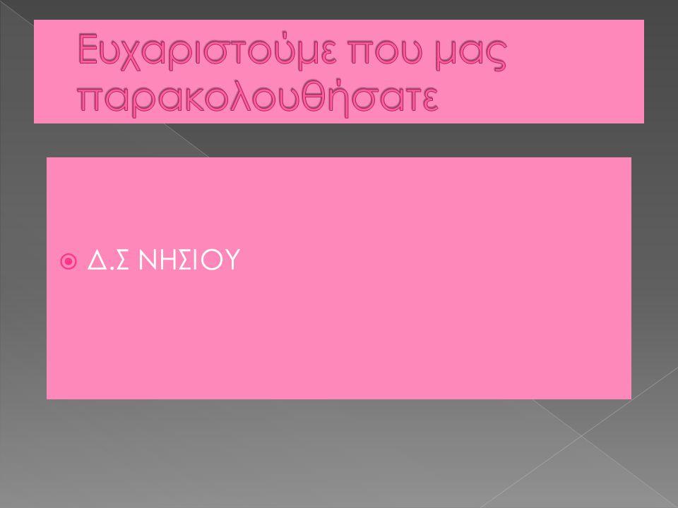  Δ.Σ ΝΗΣΙΟΥ
