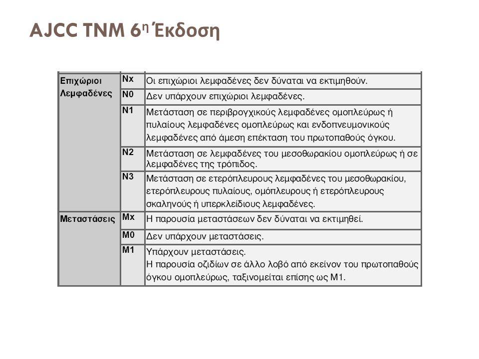 AJCC TNM 6 η Έκδοση