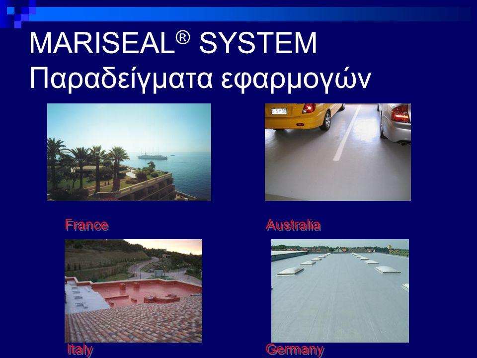 MARISEAL ® SYSTEM Παραδείγματα εφαρμογών Germany Italy France Australia