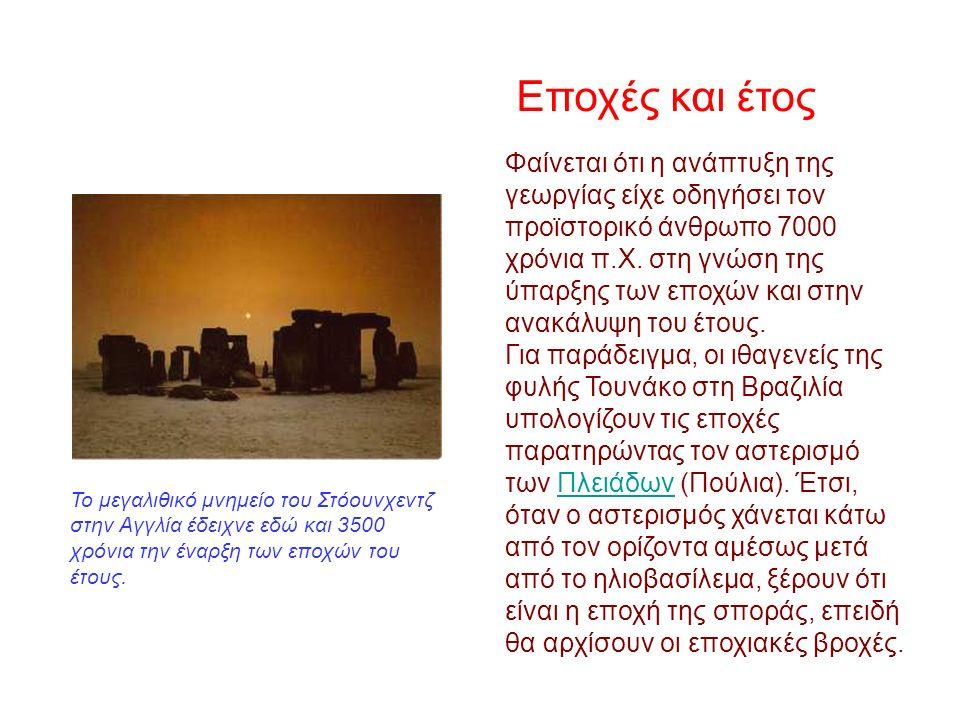 Οβελίσκοι… Γνώμονες ήταν και οι αρχαίοι αιγυπτιακοί οβελίσκοι.