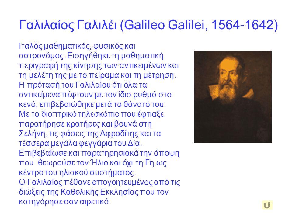 Κτησίβιος ο Αλεξανδρινός (περί το 270 π.Χ.) Διάσημος μηχανικός που γεννήθηκε και πέθανε στην Αλεξάνδρεια της Αιγύπτου.