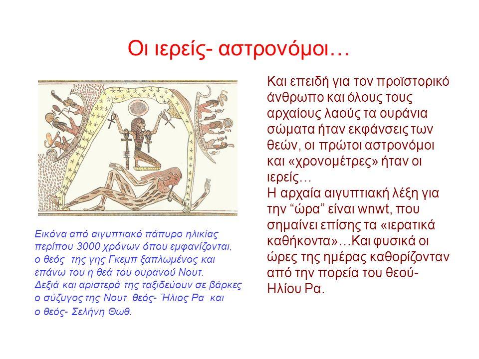 Οι Βαβυλώνιοι πρώτοι όρισαν ως αρχή της ημέρας την ανατολή του Ηλίου.