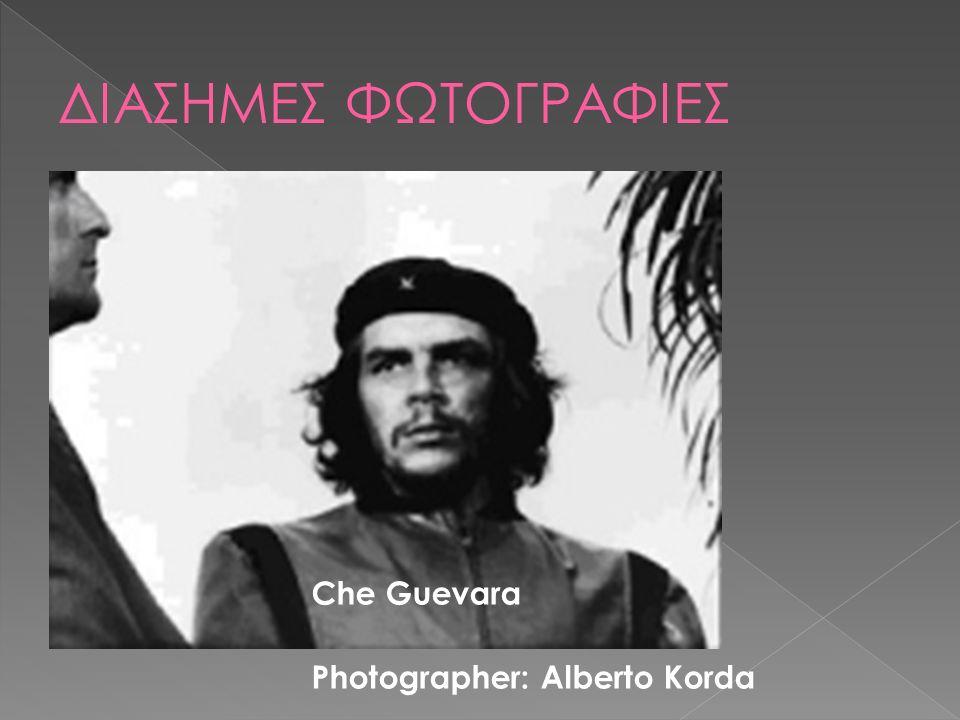 Che Guevara Photographer: Alberto Korda