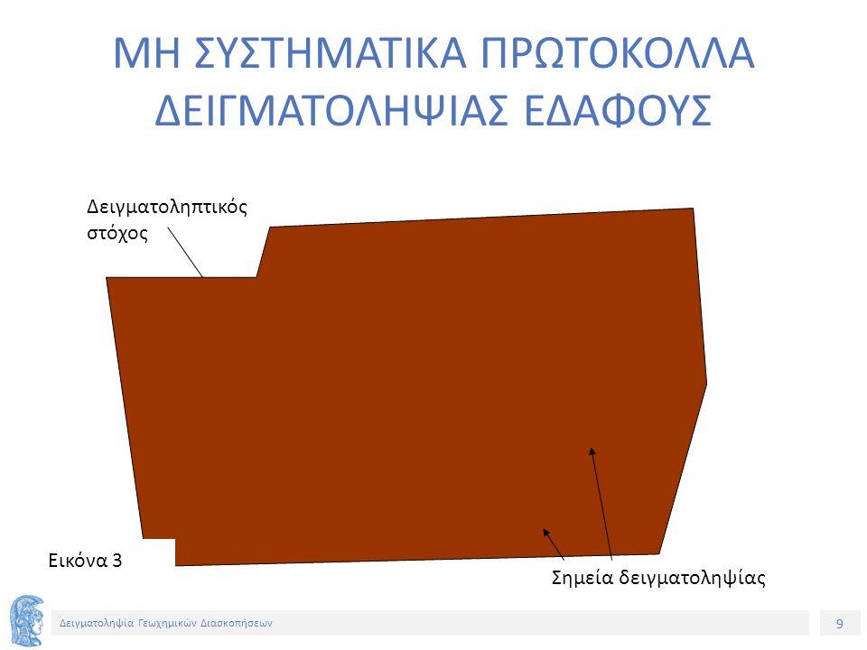 20 Δειγματοληψία Γεωχημικών Διασκοπήσεων ΣΥΛΛΟΓΗ ΕΔΑΦΟΥΣ ΜΕ ΣΕΣΟΥΛΑ Εικόνα 14