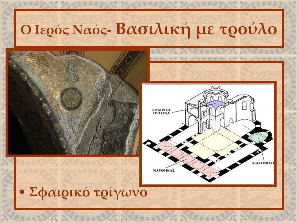 Ο Ιερός Ναός- Βασιλική με τρούλο Σφαιρικό τρίγωνο