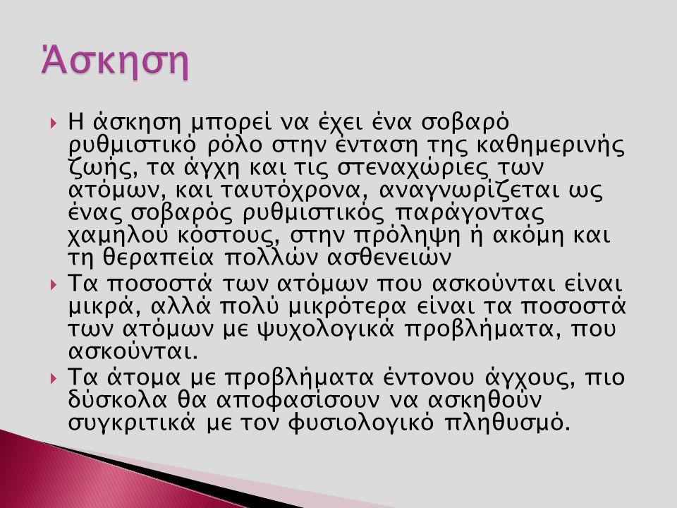 Γεροδήμος, Β. (2013). Η άσκηση ως μέσο πρόληψης και αποκατάστασης χρόνιων παθήσεων.