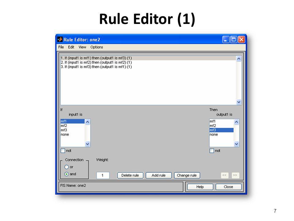 Rule Editor (1) 7