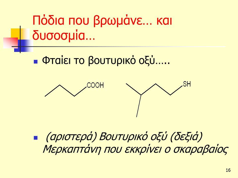 16 Πόδια που βρωμάνε… και δυσοσμία… Φταίει το βουτυρικό οξύ…..