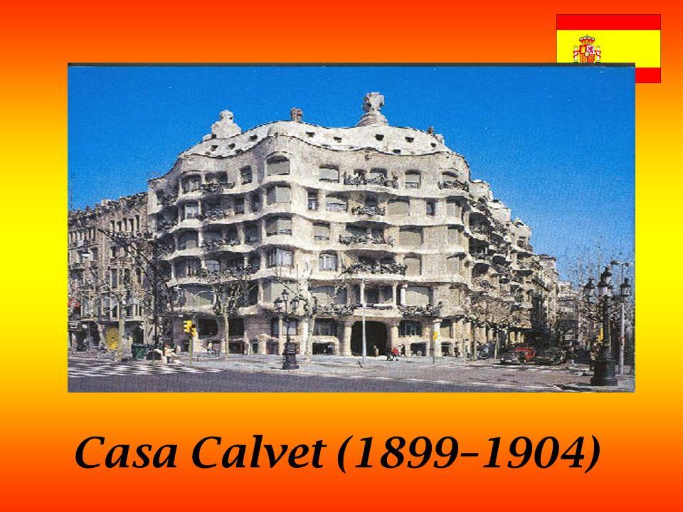 Casa Calvet (1899–1904)