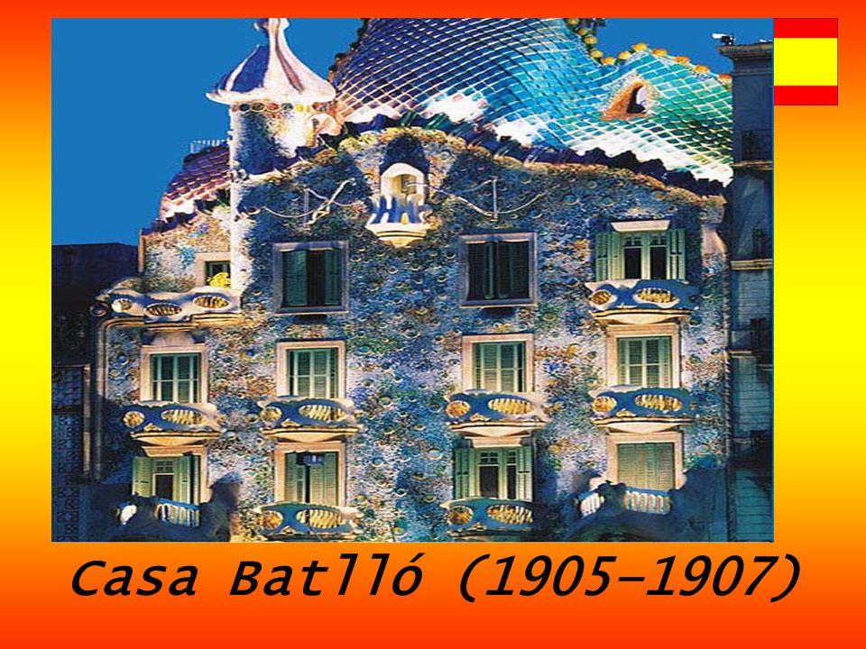 Casa Batlló (1905–1907)