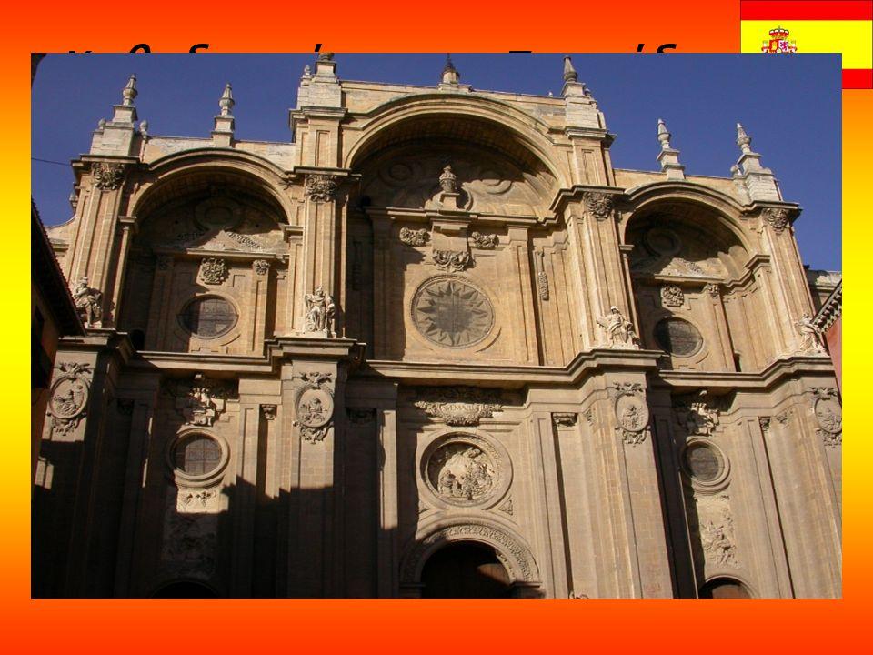 Καθεδρικός της Γρανάδα  ς Ο Καθεδρικός της Γρανάδας (Καθεδρικός της Ενανθρώπισης) είναι ο καθεδρικός στην πόλη της Γρανάδας, πρωτεύουσας της ομώνυμης επαρχίας στην Αυτόνομη Περιοχή της Ανδαλουσίας, στην Ισπανία.