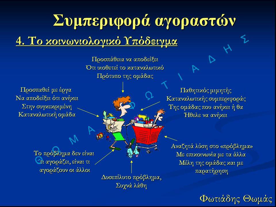 Συμπεριφορά αγοραστών Φωτιάδης Θωμάς 4.