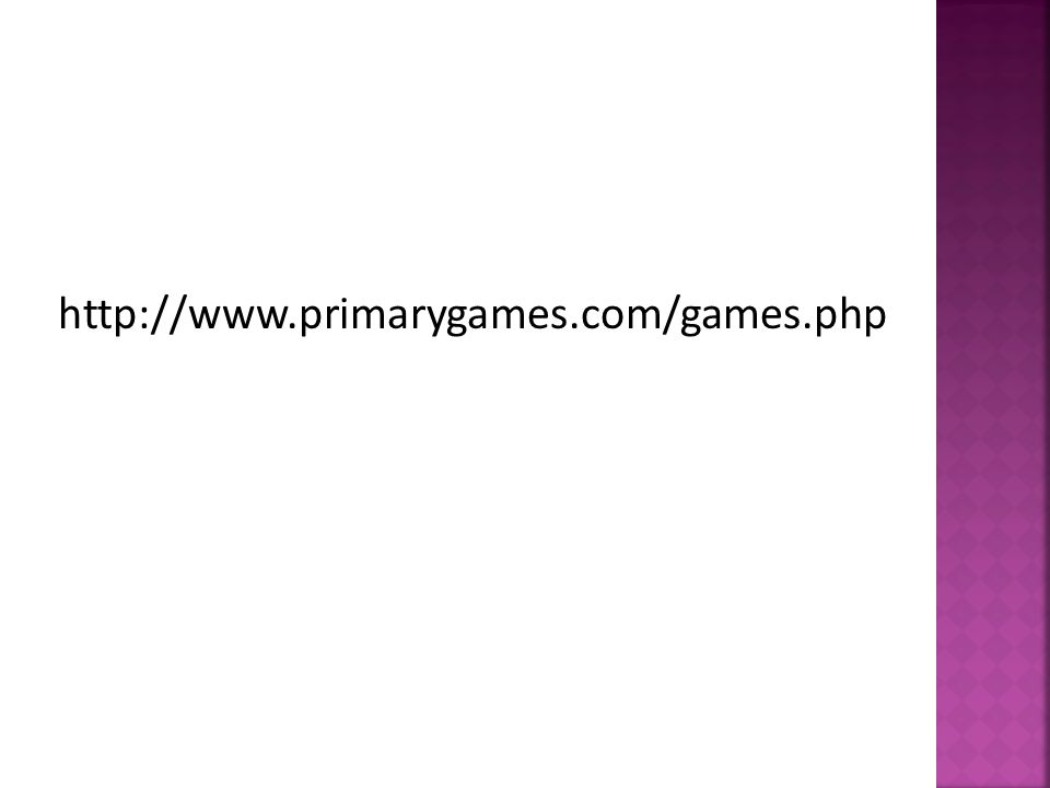 http://www.primarygames.com/games.php