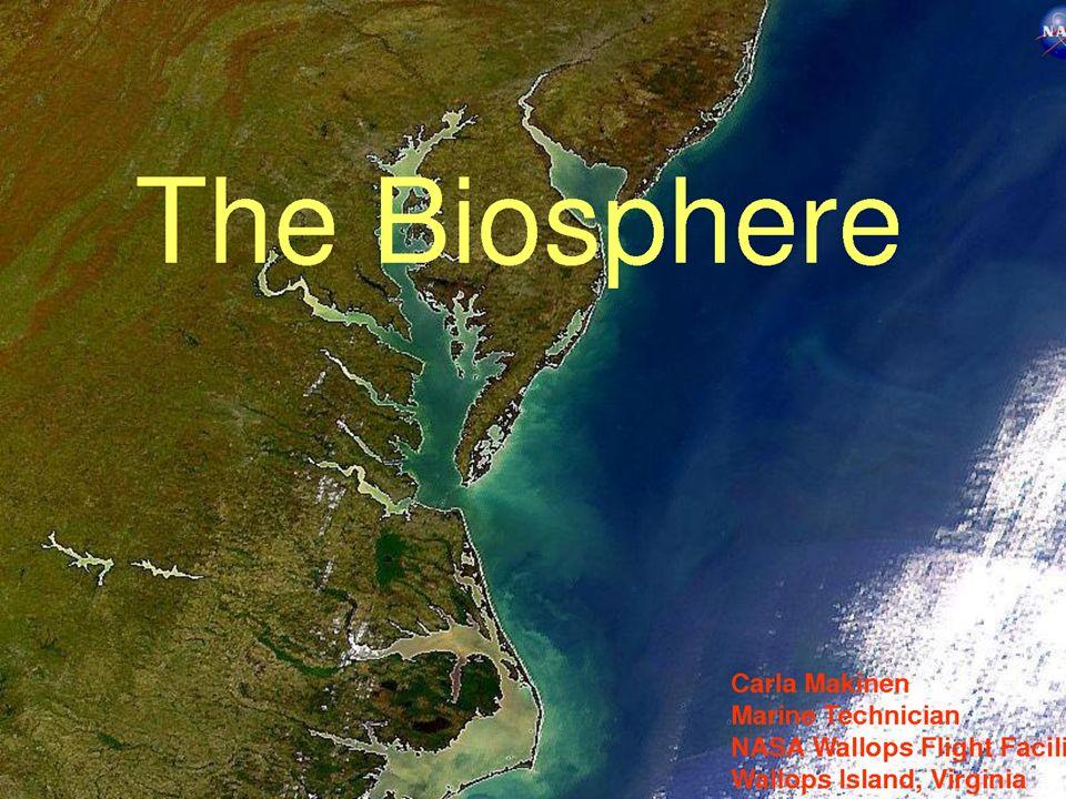 Ορισμός της βιόσφαιρας Η βιόσφαιρα είναι το εξωτερικό περίβλημα του πλανήτη - περιλαμβάνει τον αέρα, το έδαφος, το οικολογικό σύστημα που ενσωματώνει όλους τους ζωντανούς οργανισμούς και τις μεταξύ τους σχέσεις, περιλαμβανόμενης της αλληλεπίδρασης τους με τα στοιχεία της λιθόσφαιρας (πετρώματα), της υδρόσφαιρας (νερό), και της ατμόσφαιρας (αέρας)
